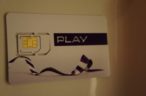 PLAY SIM card