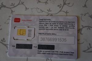 ボスニア・ヘルツェゴヴィナのSIMカード