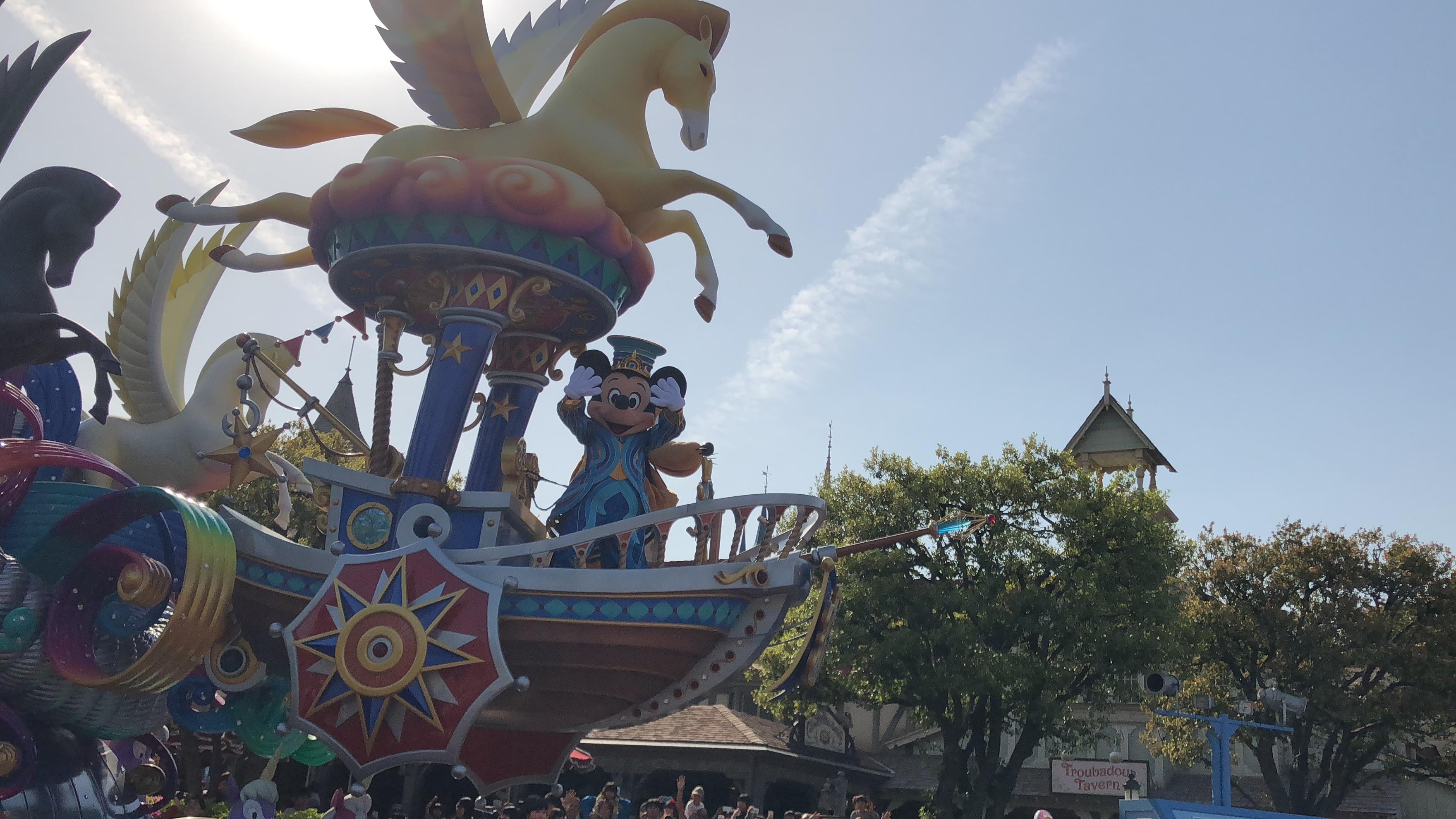 東京ディズニーランド 35周年 パレード ドリーミングアップが4月15日開始